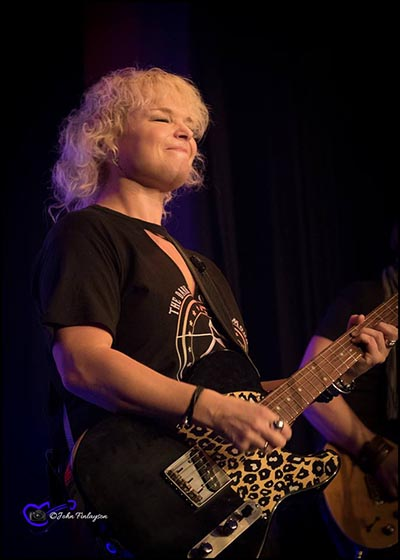 Rebecca Downes at Sedgefield Blues Club 2017